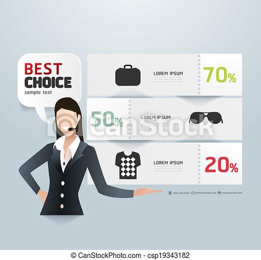 mal, genummerde, gebruikt, verkoop, lijnen, bevordering, infographics, /, vector, etiket, website, cutout, banieren, horizontaal, grafisch, moderne, papier, stijl, zijn, opmaak, of, groenteblik - csp19343182