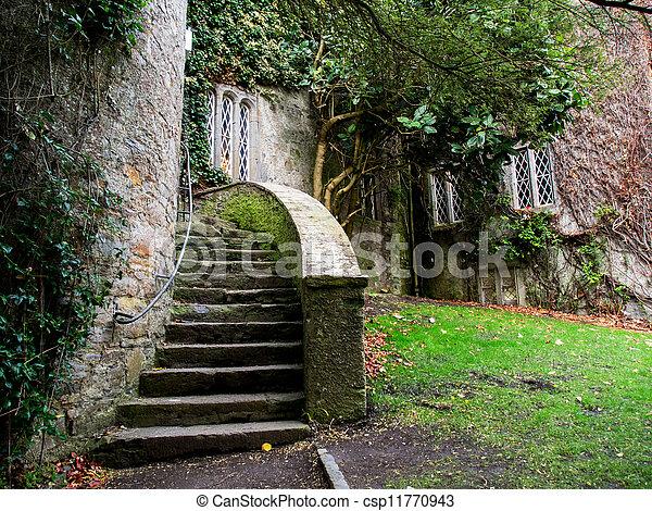 Malahide Castle in Ireland - csp11770943