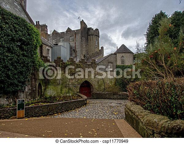 Malahide Castle in Ireland - csp11770949