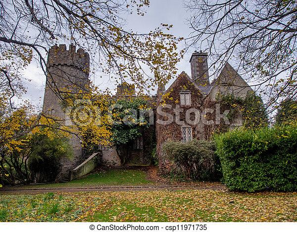 Malahide Castle in Ireland - csp11971735
