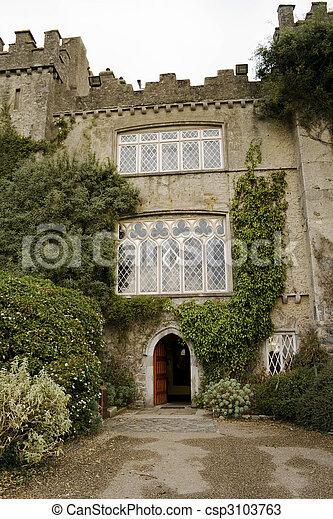 malahide castle Ireland - csp3103763