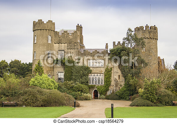 Malahide castle - csp18564279