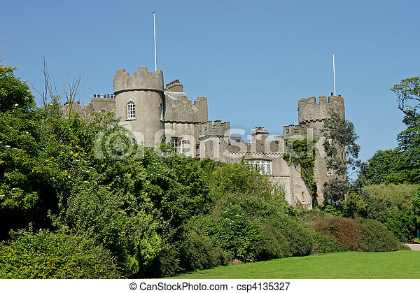 Malahide castle - csp4135327