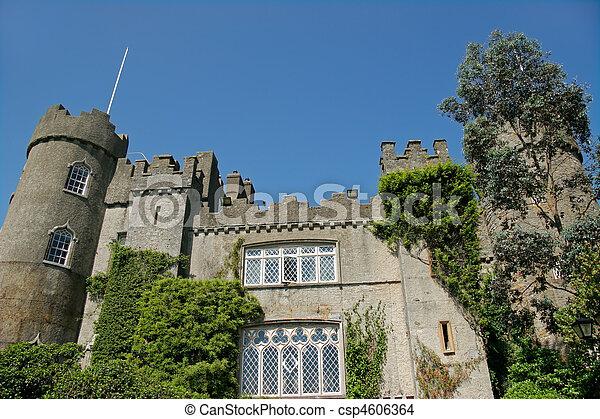 Malahide castle - csp4606364