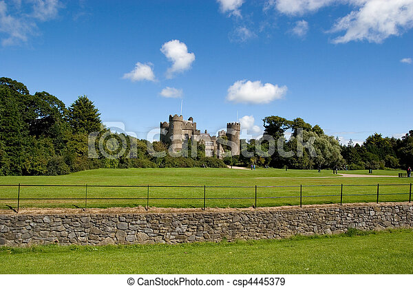Malahide Castle - csp4445379