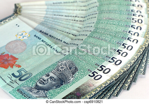 Malaysia 50 dollar notes