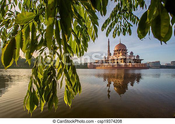 malaysia, putra, moschea - csp19374208