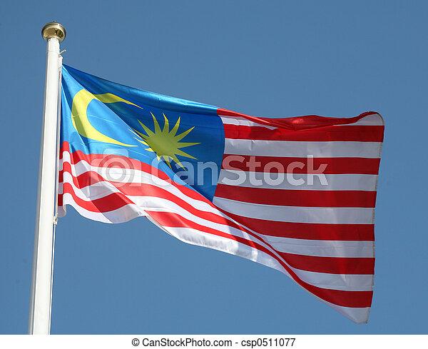 Malaysian flag - csp0511077