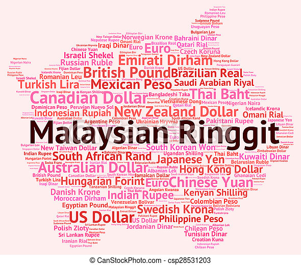 Malaysian Ringgit Shows Foreign Currency And Forex