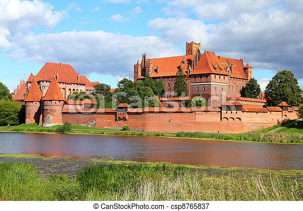 malbork, kasteel - csp8765837