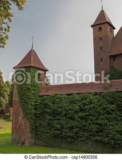 malbork, kasteel - csp14900356