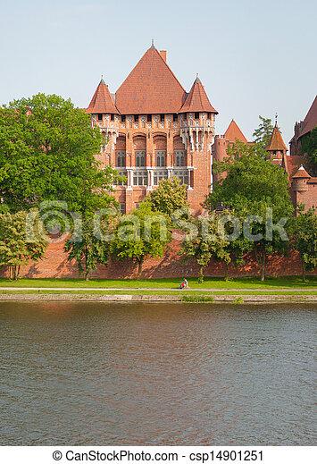malbork, kasteel - csp14901251