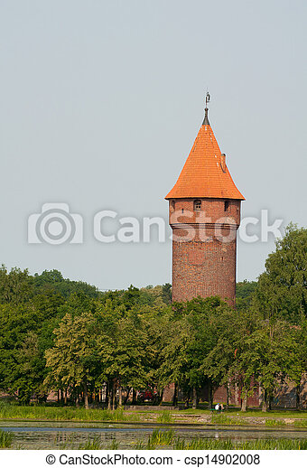 malbork, kasteel - csp14902008