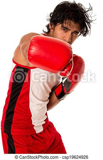 Male Boxer - csp19624926