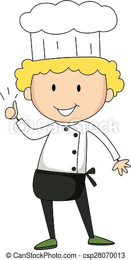 Male chef - csp28070013