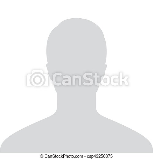 Male Default Placeholder Avatar Profile Gray Picture Isolated on White  Background For Your Design  Vector illustration