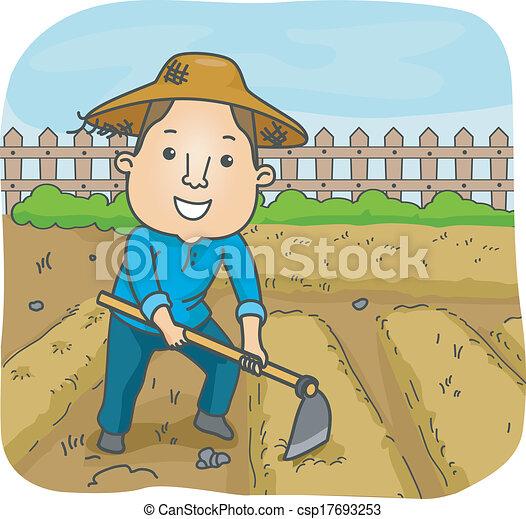 Male Farmer - csp17693253