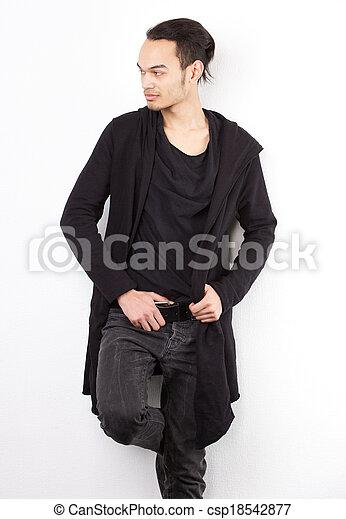 Male fashion model - csp18542877