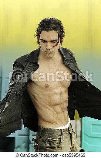 Male fashion model - csp5395463