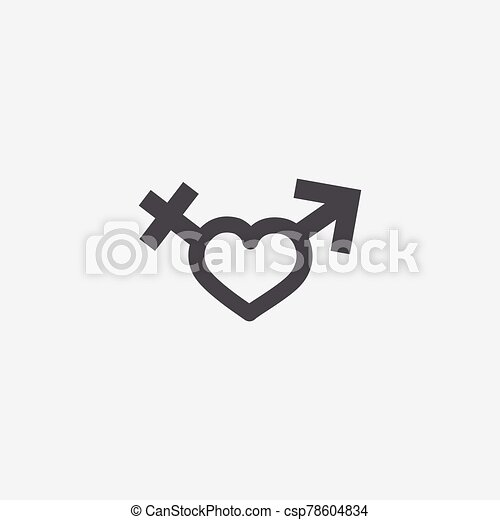 male female sign icon - csp78604834