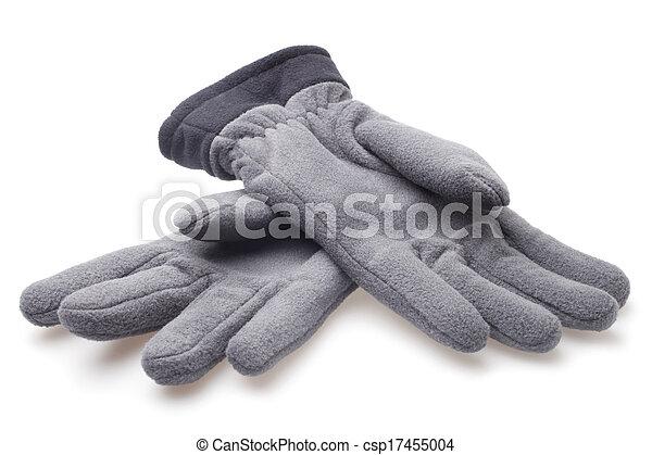 Male fleece gloves - csp17455004