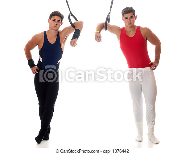 Male Gymnasts - csp11076442