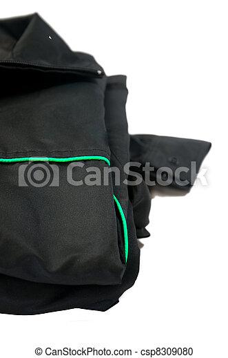 Male jacket isolated on white - csp8309080