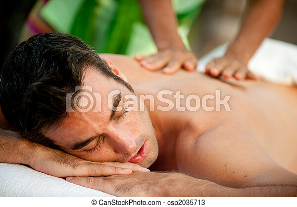 Male Massage - csp2035713