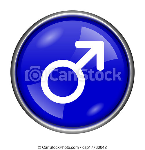 Male sign icon - csp17780042
