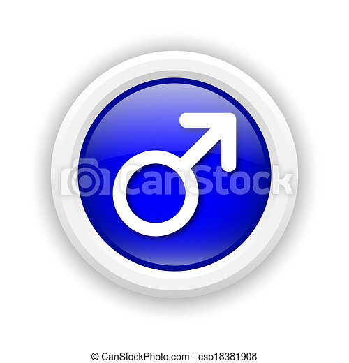 Male sign icon - csp18381908