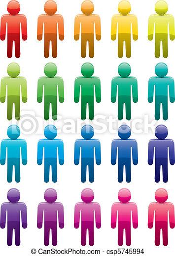 male symbols - csp5745994