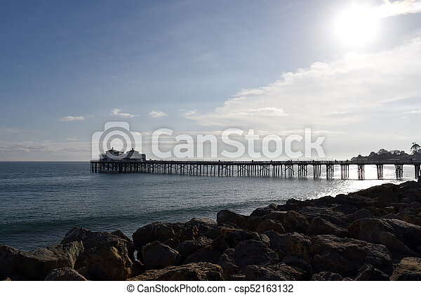 Malibu Pier - csp52163132