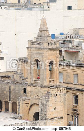 Malta Belfy and Ringer - csp1097945