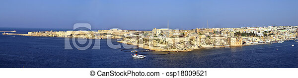 malta., ricasoli, ponto - csp18009521