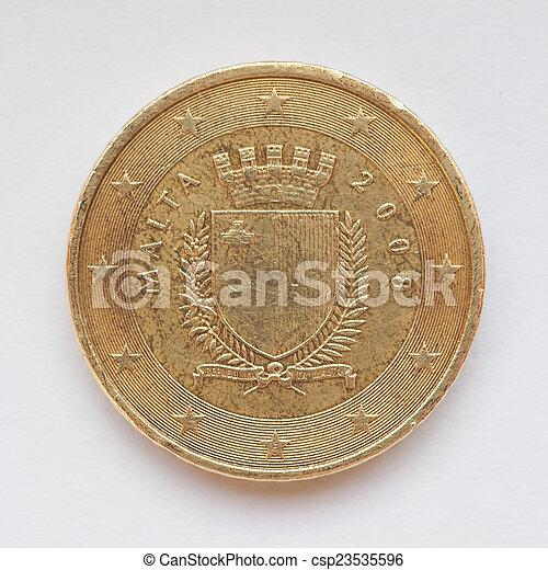 Maltese Euro coin - csp23535596