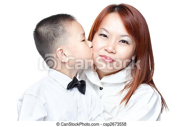 Asiatischer reifer Junge