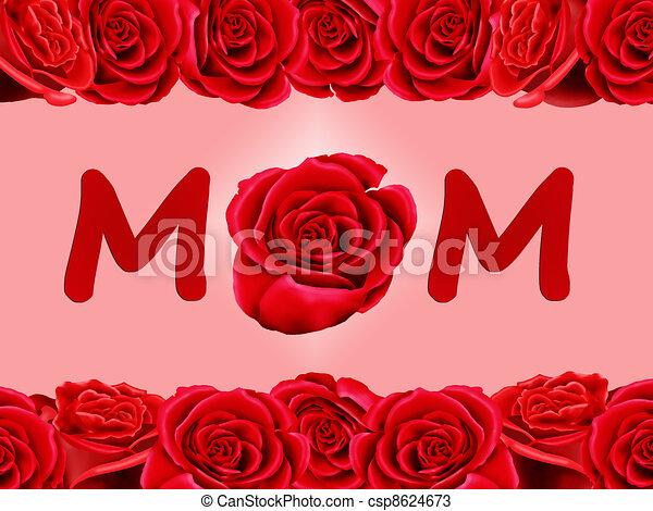 Maman Rose Carte Anniversaire
