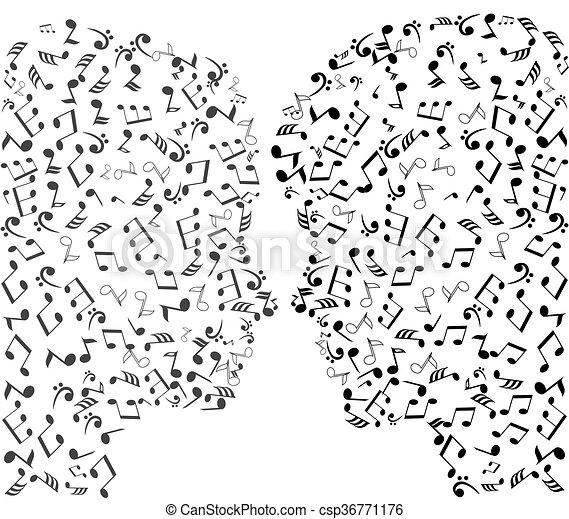 man and woman puzzles - csp36771176