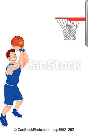 man basketball player - csp49521262