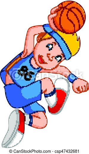 man basketball player - csp47432681