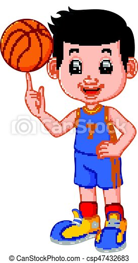 man basketball player - csp47432683