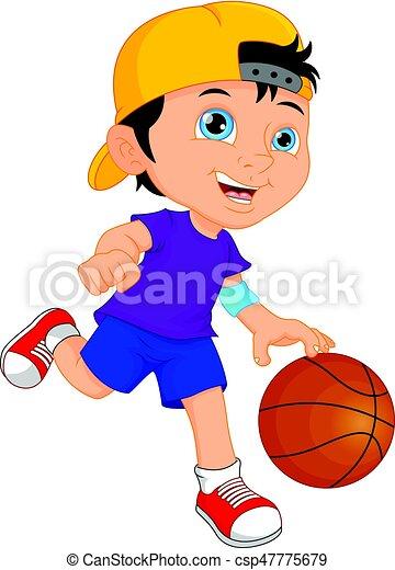 man basketball player - csp47775679