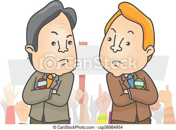 man candidates rivals illustration of two politicians embroiled in rh canstockphoto com revival clip art free revival clip art images