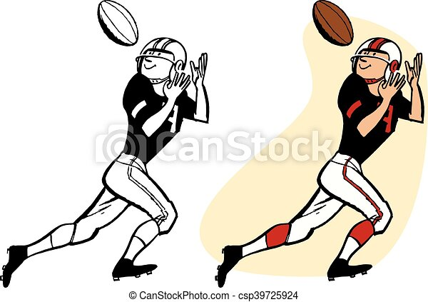 Man Catches Football