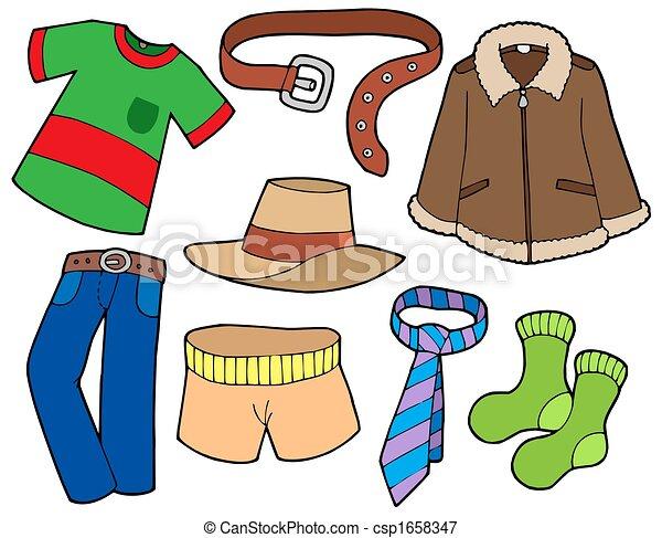 Man clothes collection - csp1658347