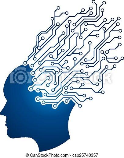 Man Head circuit design