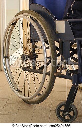man in a wheelchair - csp25404556