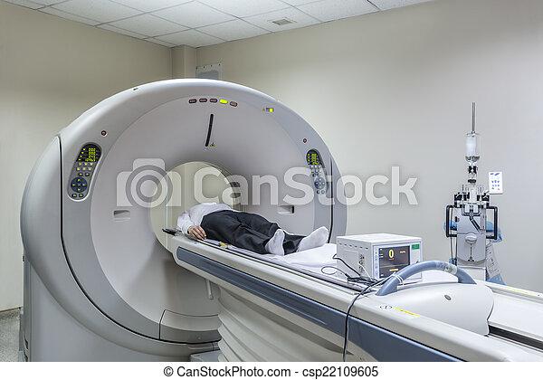 Man in Scanner - csp22109605