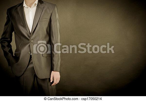 man in suit - csp17050214