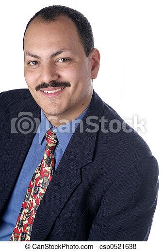 man in suit - csp0521638